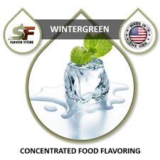 Wintergreen Flavor Drops Flavoring Concentrate - 1oz/30ml - SageFox - FL083