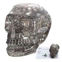 3D Hallowmas Light Crystal Skull Puzzle With Flashing Light 50pcs Jigsaw Blocks