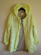 New! Gap women's bright yellow thin shower jacket - XS - coat cycling high vis