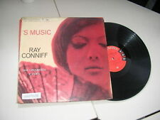 LP Pop Ray Conniff 's Music COLUMBIA BRASIL