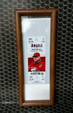 Los Angeles Angels Mike Trout MLB DEBUT 7/8/11 Full Ticket Baseball Rookie 2011