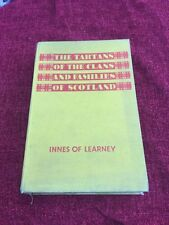 The Tartans Of The Clans And Families Of Scotland 2nd Edition 1945 Innes Of Lear