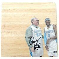 George Karl Denver Nuggets Autograph Signed Basketball Floor Board Proof Coa