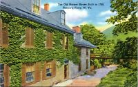 HARPERS FERRY WEST VIRGINIA Postcard 1940s The Old Harper House HP