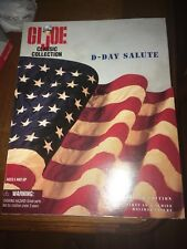 """LIMITED EDITION Big Red One D-DAY SALUTE GI JOE CLASSIC COLLECTION WWII 12"""" LE"""