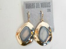 Robert Lee Morris Soho Gold Plated $48 Drop Earrings