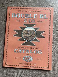 RRL Catalog Double RL Fall 2021 Ralph Lauren Book Magazine Polo