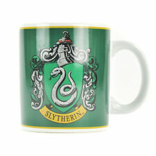 GREEN HARRY POTTER SLYTHERIN CREST MUG CERAMIC CUP TEA COFFEE BOXED GIFT SNAKE