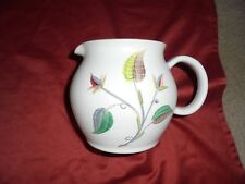 DENBY Pottery Jug GLYN COLLEDGE. Hand painted 5 1/2 inches tall