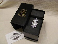 New Old Stock HSN Victoria Wieck Crystal Watch in Original Box- Excellent