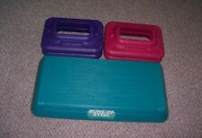 BUNS OF STEEL CIRCUIT TRAINER STEP STEPPER CARDIO FITNESS & 4 RISERS