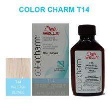 WELLA COLORCHARM LIQUID HAIR TONER 1.4oz T14 PALE ASH BONDE