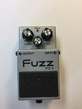 Boss Roland FZ-3 Analog Fuzz Distortion Rare Vintage Guitar Effect Pedal FZ3
