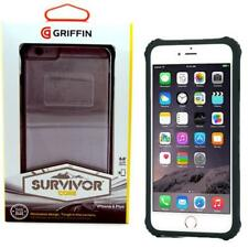 Griffin Survivor Core Case for Apple iPhone 6 6s Plus Black Clear GB40551