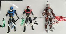 Power Rangers Lightning Collection Lot - Psycho Red, Psycho Blue, Lord Zedd
