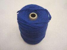 UKI Astralon royal blue 26 4 ply yarn on cone 8.5ozs EC!