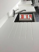 Pure White Quartz kitchen worktop | Quality Stone | Sample