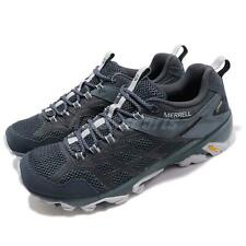 Merrell Moab FST 2 GTX Gore-Tex Vibram Navy Slate Men Outdoors Shoes J77453