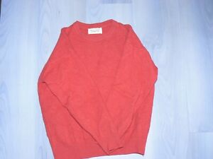 pull garcon 10-12 ans pure laine vierge united colors of benetton