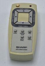 Sharp AC Air Conditioner Remote White Grey