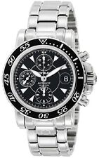 a73808ecc3a Montblanc Sport 3273 Xl Automático Cronógrafo Dial Negro Acero 200 M Reloj  de hombre