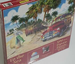 To The Sea 500 Piece Puzzle By Suns out Art By Joesph Burgess New