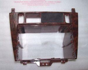 Volvo S40 V40 Radio Panel Trim in Dark Walnut Finish 1996 to 2000 30854922