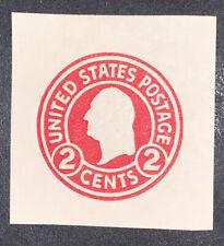 Travelstamps: US Stamps Scott #U429 Mint Cut Square 2 Cent Denomination