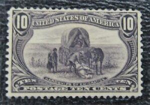 nystamps US Stamp # 290 Mint OG H $160   L23x1334