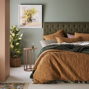 NEW ADAIRS QUILTED KING BED QUILT COVER + 2 STANDARD PILLOWCASES SET CALLIE
