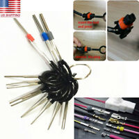 11Pc Car Terminal Removal Kit Plug Wiring Connector Pin Extractor Puller Release