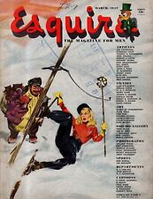 1947 Esquire March - Going to Mars; Stanford; Bermuda Idylls; Harness Racing