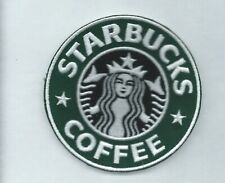 NEW 3 1/2 INCH STARBUCKS COFFEE IRON ON PATCH FREE SHIPPING P1
