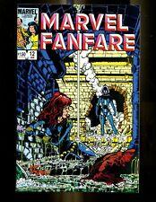Marvel Fanfare 12 (9.6) 1St Full Iron Maiden Black Widow Perez Marvel (B039)