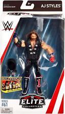 Wwe AJ Styles Raw WWF accesorios elite series 61 lucha libre Mattel