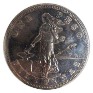 Silver Peso Philippines Proof 1904 PR-64 PCGS - Coin