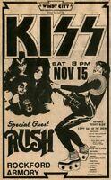 The Doors 1967 Concert Rock Music Poster 13x23