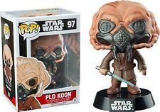 Plo Koon Star Wars Pop! Vinyl Figure #97 Episode VII 7 Exclusive (No Sticker)