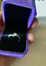 9ct-white-gold -diamond Ring