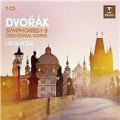Libor Pesek - Dvorak: The 9 Symphonies & Orc 7 CD Set New