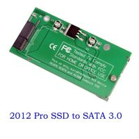 Apple 2012 MacBook Pro Retina A1398 MC975 MC976 SSD to 2.5 SATA Adapter Card