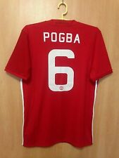 MANCHESTER UNITED 2016/2017 HOME FOOTBALL SHIRT JERSEY PAUL POGBA #6
