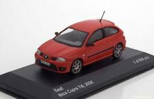 SEAT IBIZA CUPRA TDI 2006 RED WHITEBOX WB218 1/43 ROSSO ROT ROUGE DIE CAST MODEL