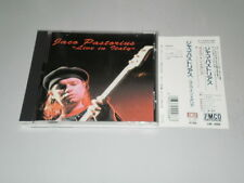 JACO PASTORIUS - LIVE IN ITALY - CD MADE IN JAPAN - WITH OBI - JIMCO RECORDS