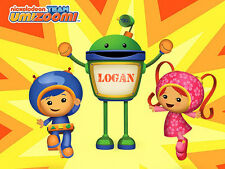 Team Umizoomi Iron-On T-Shirt Transfer w/FREE Personalization