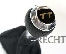 NEU Original Audi TT S-Line Schaltknauf TTS RS 8J ALU Knauf Individual S-Tronic