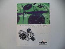 advertising Pubblicità 1998 TISSOT SPORT CHRONO