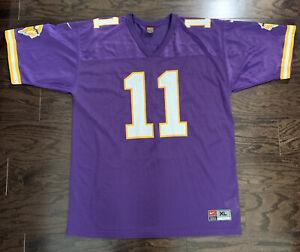 Nike Minnesota Vikings NFL Football DAUNTE CULPEPPER #11 Jersey Mens XL Vintage
