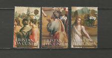 Tristan Da Cunha 1983 Y&T N°343 & 345 3 timbres non oblitérés /T4501