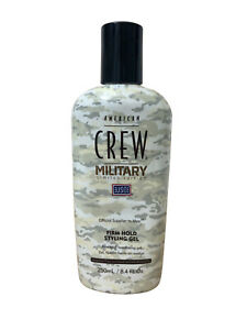 American Crew Military Limited Edition Firm Hold Styling Gel 8.4 OZ